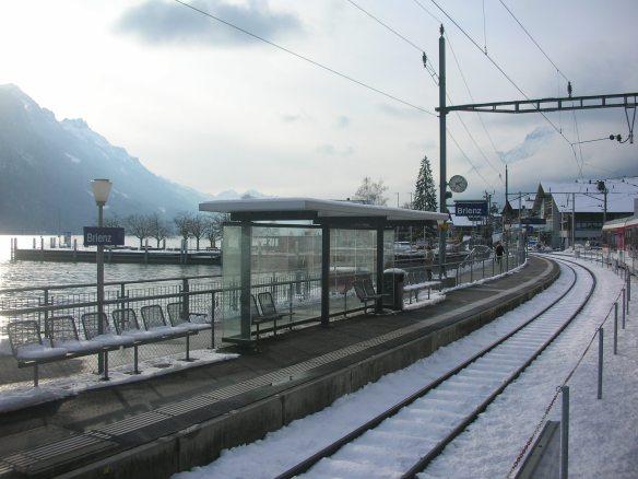 Goldenpass Panoramic train ride, Brienz
