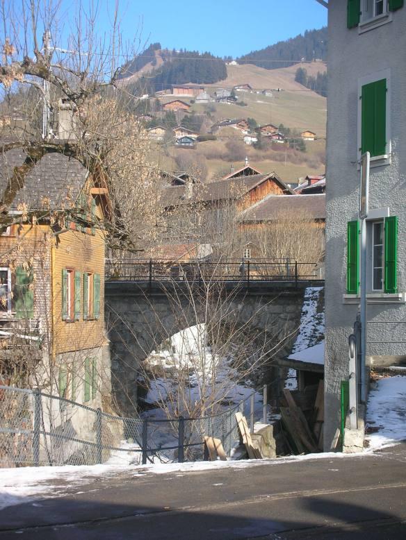 Mountain village of Château-d'Oex