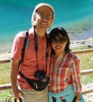 A Singaporean wife, a Swiss husband, living in Lausanne.
