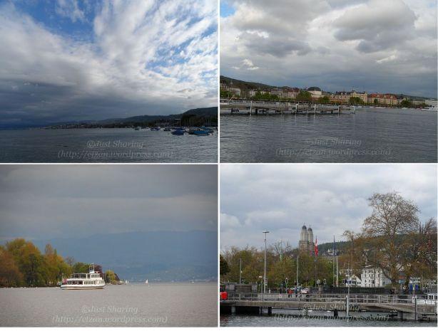 View of Lake Zurich