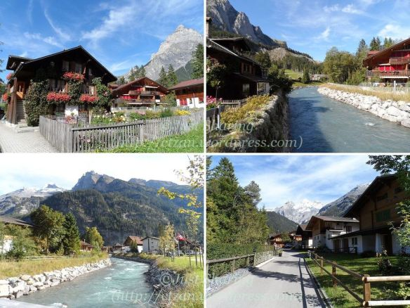 Kandersteg village