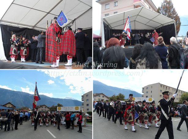 Police military band