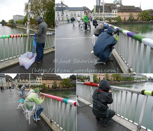 Bridge knitting